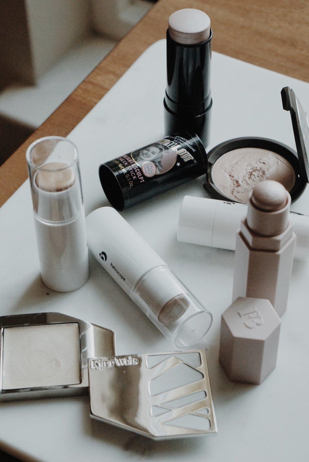 Cream Highlight Roundup: Glossier, Kjaer Weis, Fenty Beauty, BECCA Cosmetics, Soap & Glory
