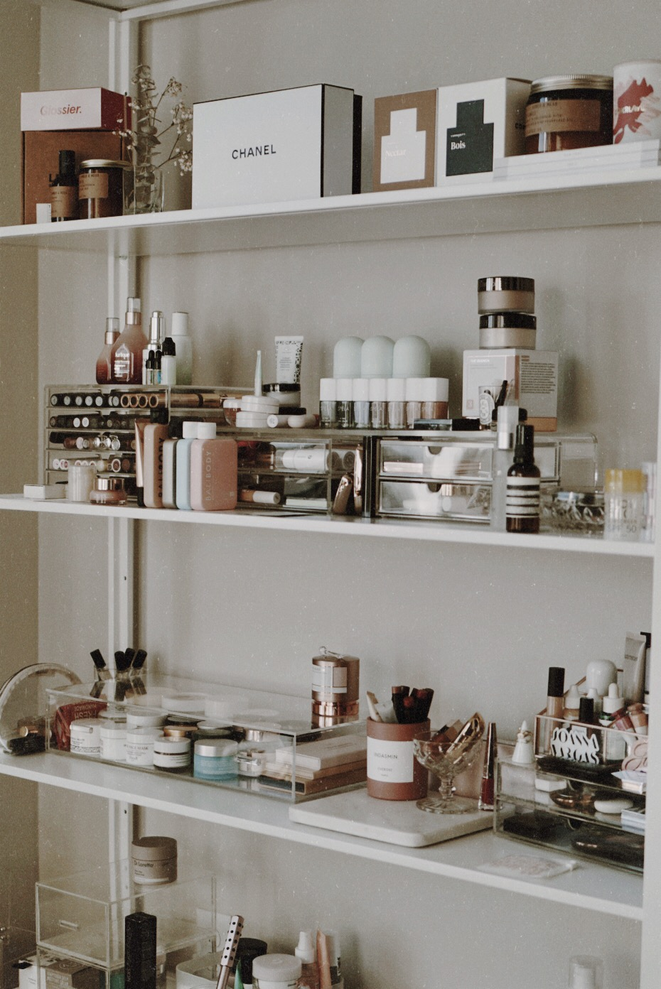 CHY Beauty Office Storage - Ikea, West Elm, The Container Store, Target