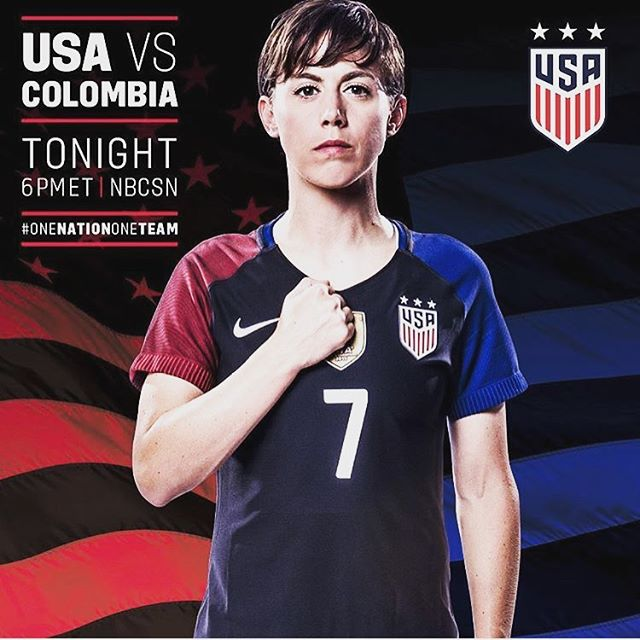 It's game day! Come out and support team USA #uswnt #dcsoccer #happyhour #olympics