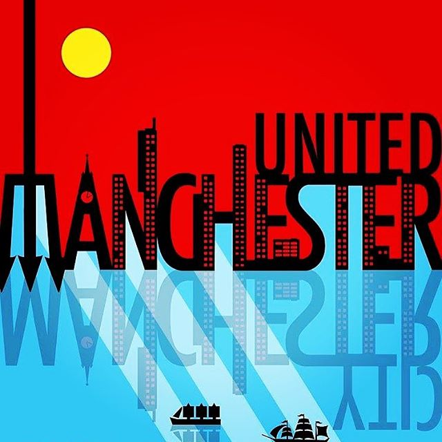 Is Manchester red or blue? TBD tomorrow at 7:30am. Doors open at 8am see you all soon! #epl #manchesterunited #manchestercity #dcsoccer