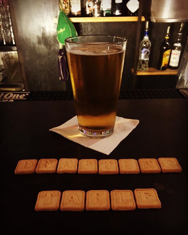 Finish off the day with a pint or two from Drafting Table. #draftingtable #dtfc #dc #14thstreet