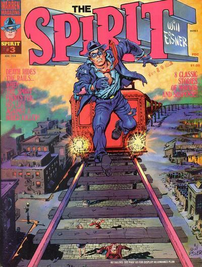 The Spirit, an all-new cover wrapped around vintage 40s-50s stories