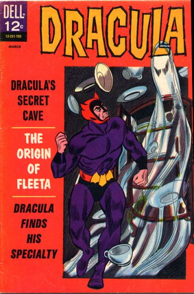 Drac! He's a swinging 60's crimefighter! You'd think the belt would poke him something awful...