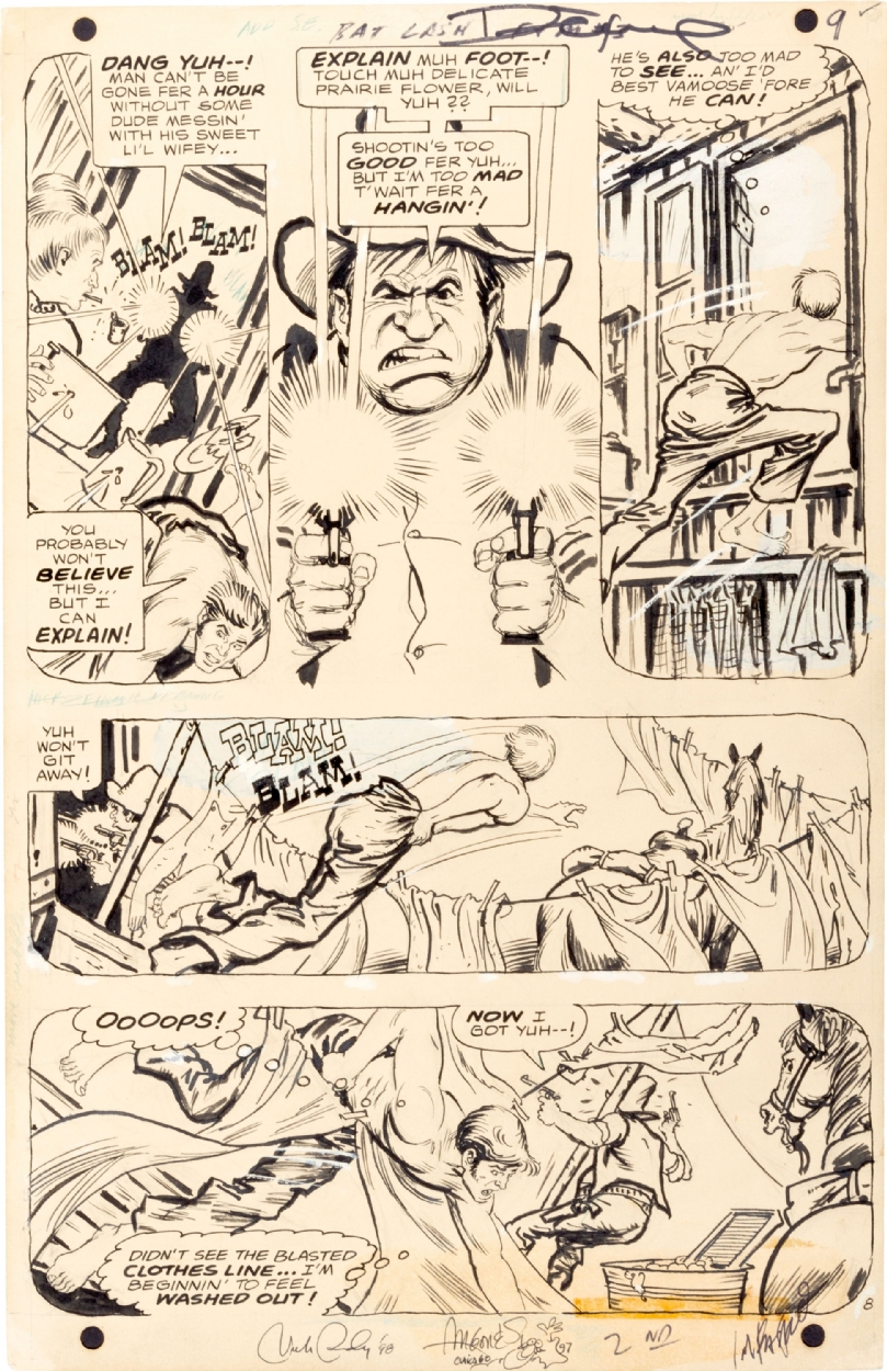 Some of that nice Nick Cardy art