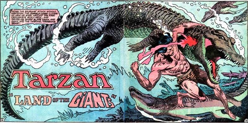 There will be croc tonight! Tarzan #211.