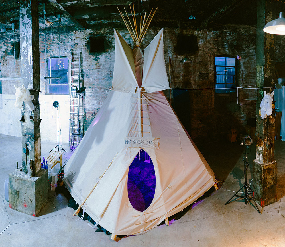 TBA: TEEPEE GATHERING - Sunday, Oct 28, 2018 7pmIntimate ceremony for 14 guests conducted by current Sea Artists @ Mothership NYC:Kirsty Whiten, Visual Artist (Scotland) andMarita Isobel Solberg, Performance Artist/Vocalist (Norway)Please sign up here.