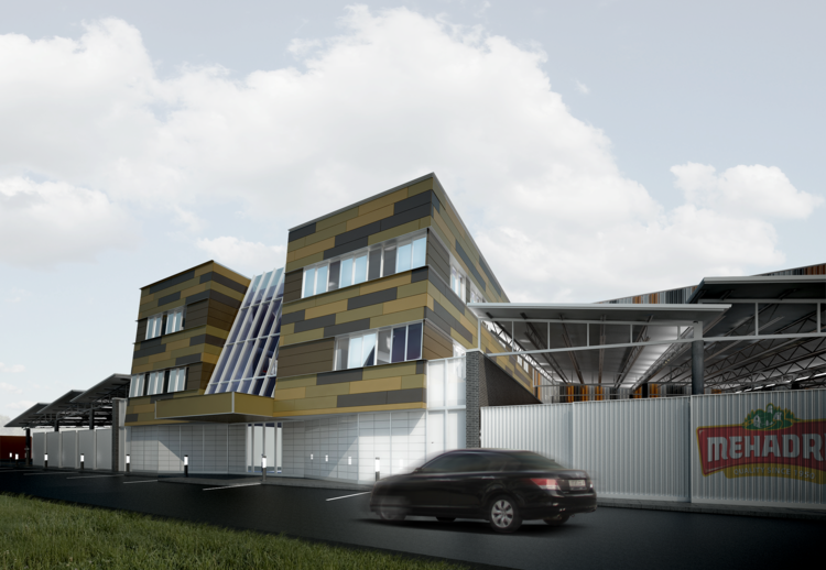 Attractive Mehadrin+Corporate+Building_Exterior+View+2.png ...