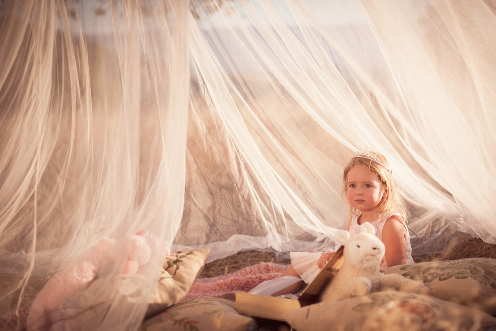 Fairytale Kid Portrait // Ashley Petersen Photo