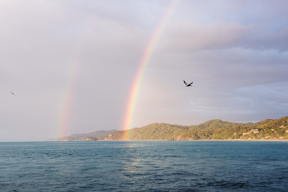Double Rainbow in Sayulita // Ashley Petersen Photo