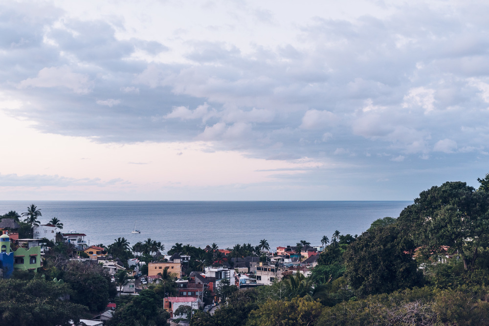 View of downtown Sayulita // Ashley Petersen Photo