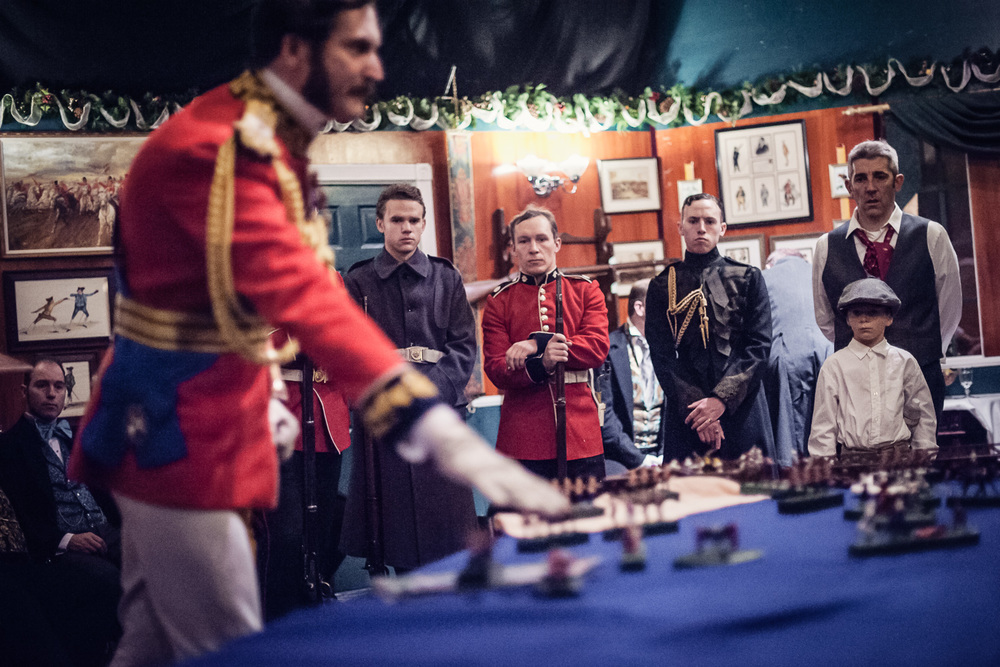 War strategizing // The Great Christmas Dickens Fair // Ashley Petersen Photo