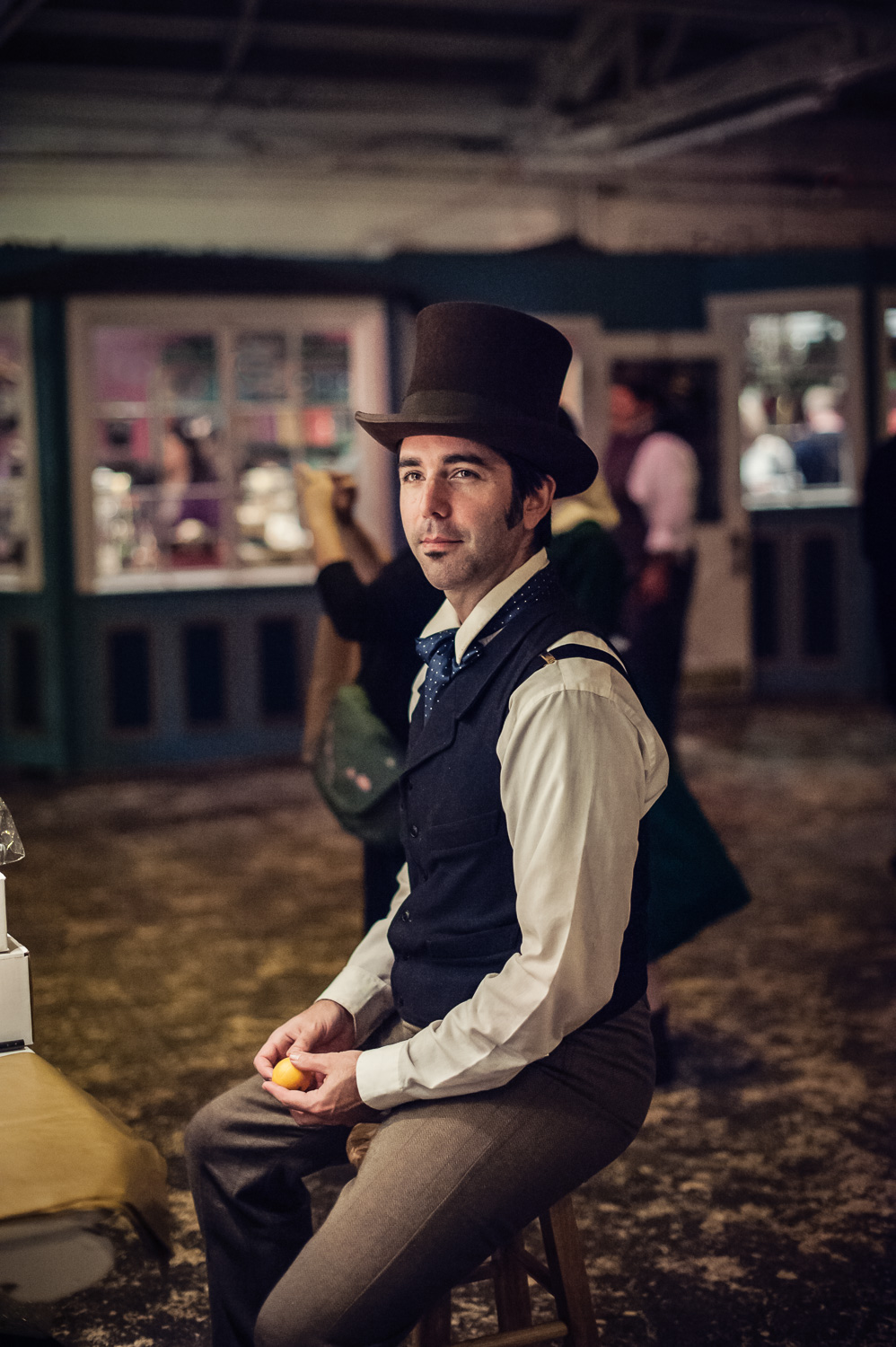 Portrait of an Artist // The Great Christmas Dickens Fair // Ashley Petersen Photo