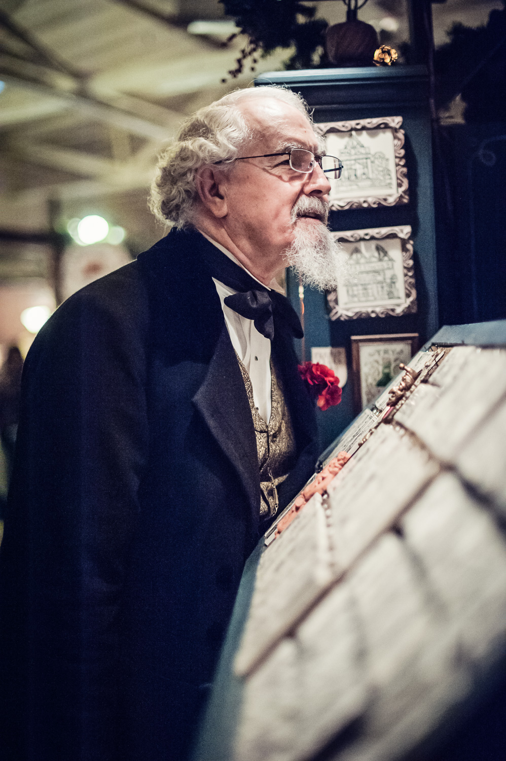 Charles Dickens // The Great Christmas Dickens Fair // Ashley Petersen Photo