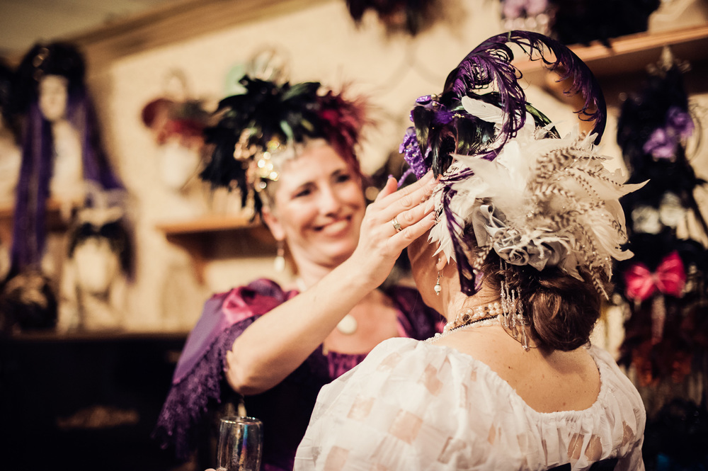Hat Shopping // The Great Christmas Dickens Fair // Ashley Petersen Photo