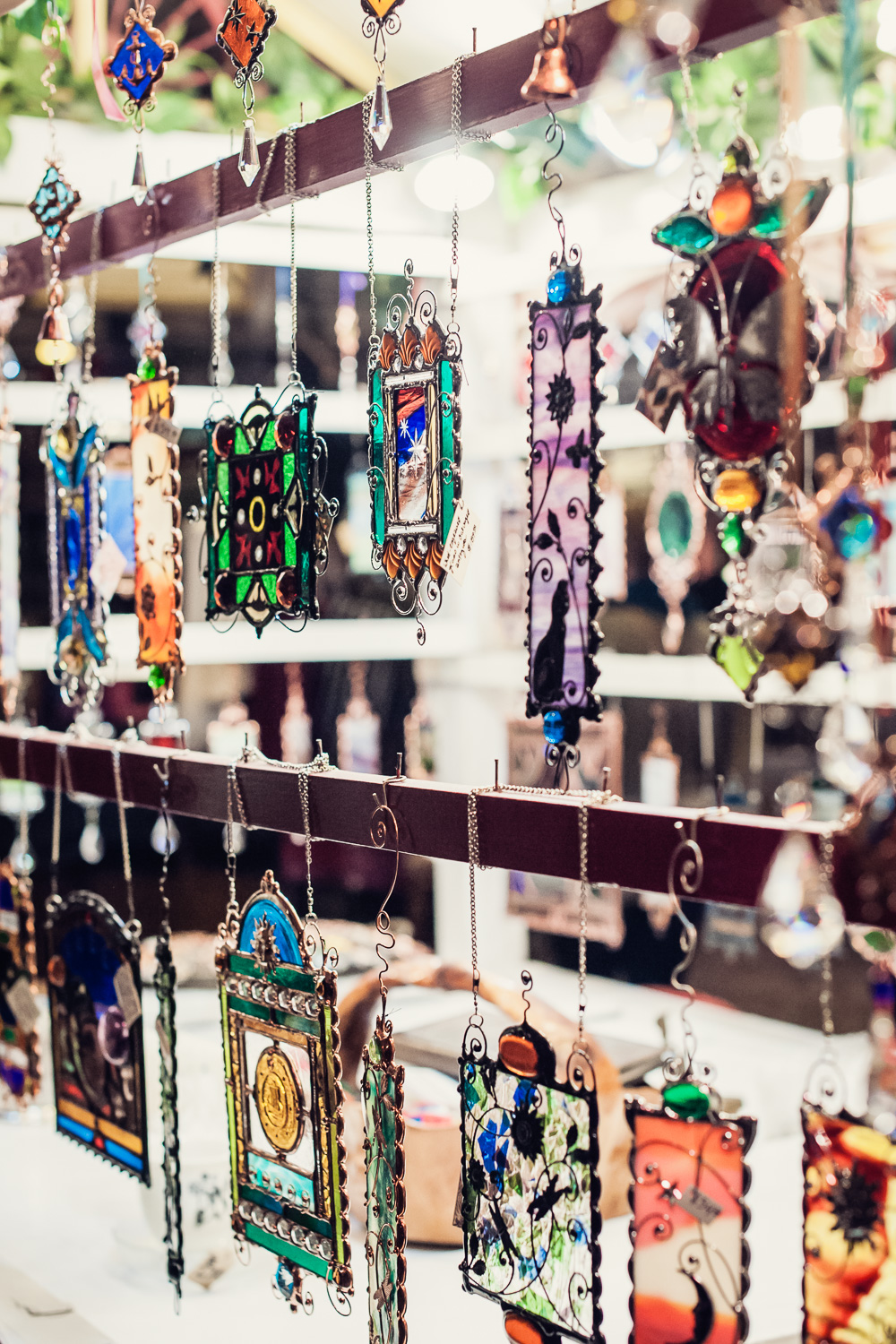 Stained Glass Creations // The Great Christmas Dickens Fair // Ashley Petersen Photo