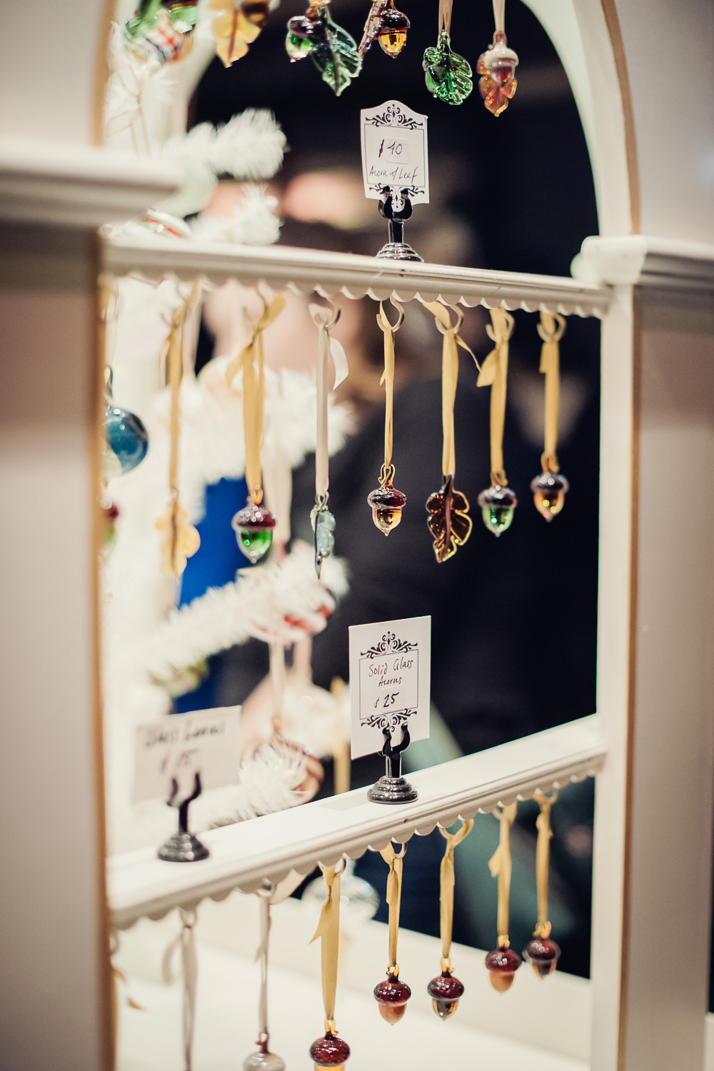 Ornaments // The Great Christmas Dickens Fair // Ashley Petersen Photo