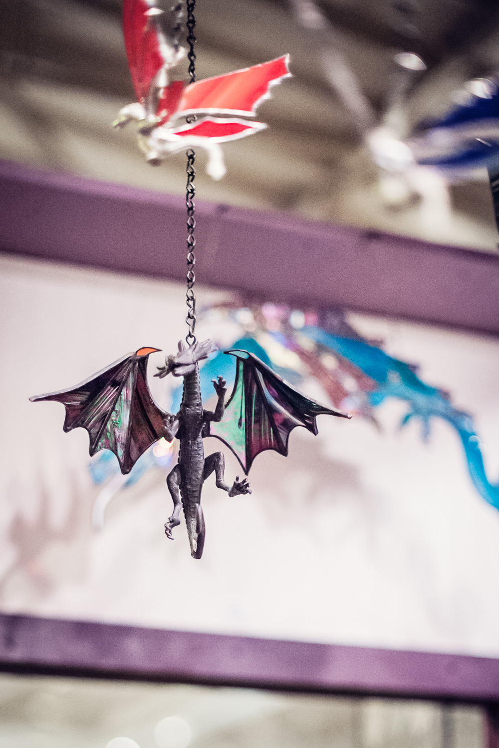 Stained Glass Dragon // The Great Christmas Dickens Fair // Ashley Petersen Photo