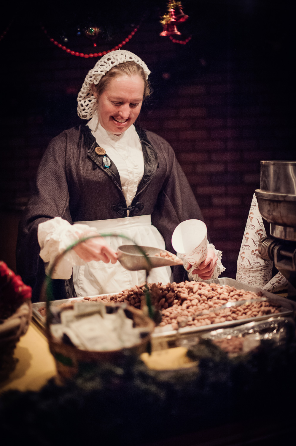 Warm Chestnut // The Great Christmas Dickens Fair // Ashley Petersen Photo