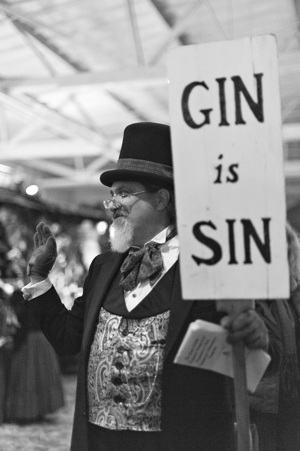 Gin is Sin // The Great Christmas Dickens Fair // Ashley Petersen Photo