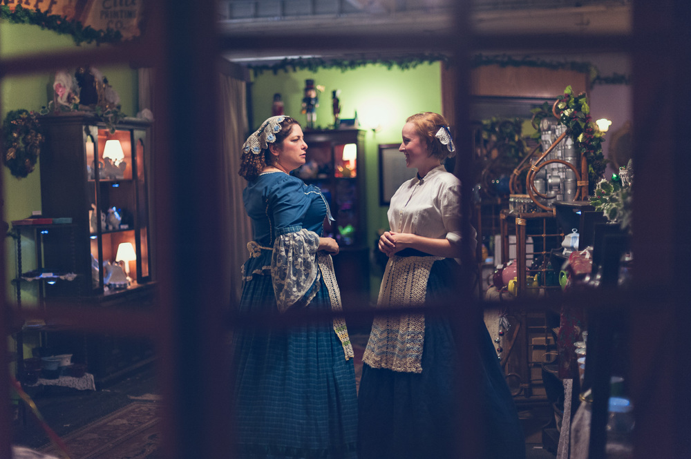 Character Portrait // The Great Christmas Dickens Fair // Ashley Petersen Photo