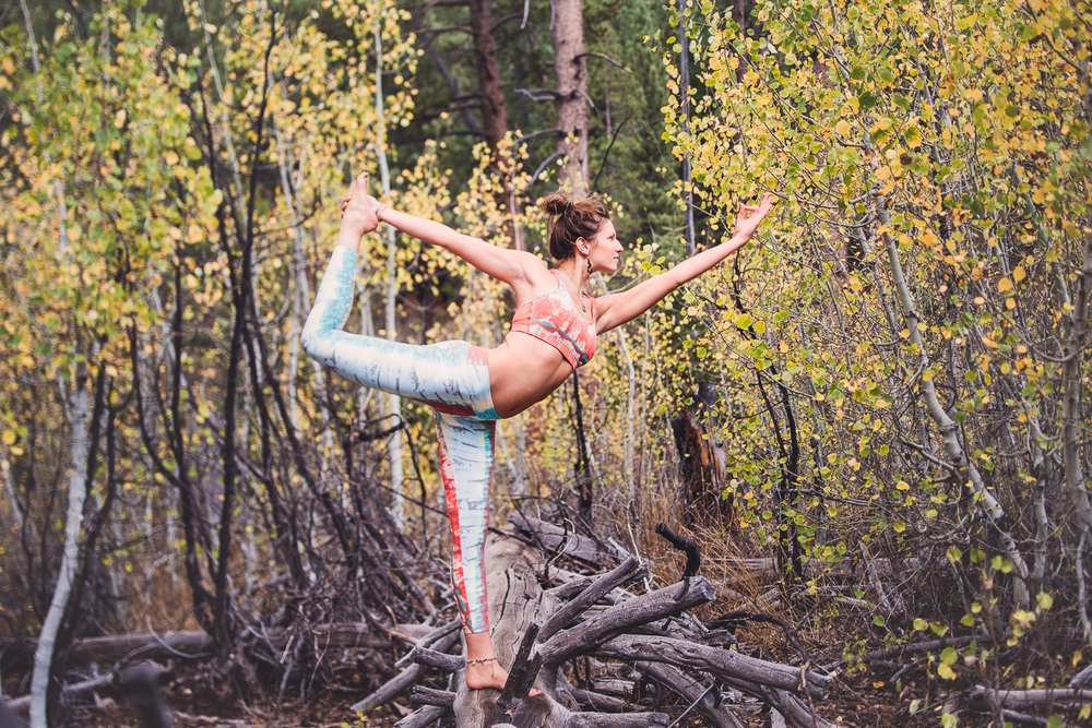 Yogi Ashley Dien // Dancer's Pose  (Natarajasana) // Ashley Petersen Photo