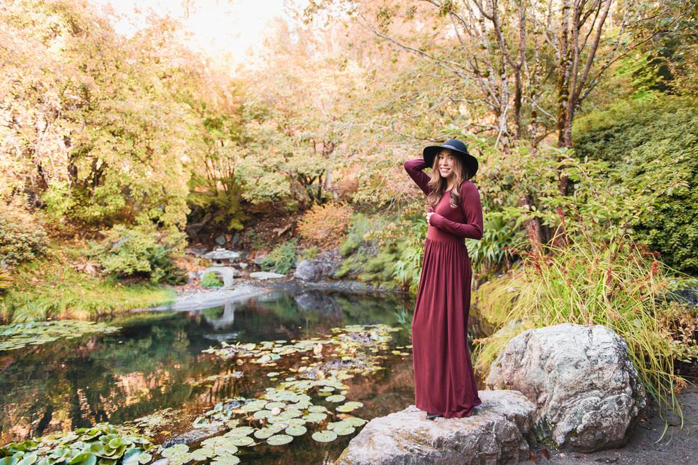 Shabby Apple Maxi Dress // Ashley Petersen Photo