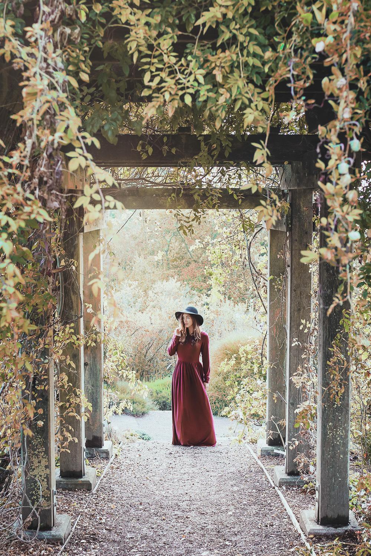 Wandering the garden // Shabby Apple Dress // Ashley Petersen Photo