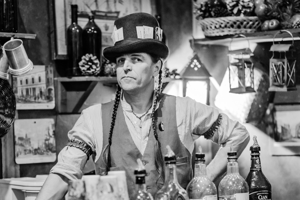 Grab a drink at the Dickens Fair // Ashley Petersen Photo