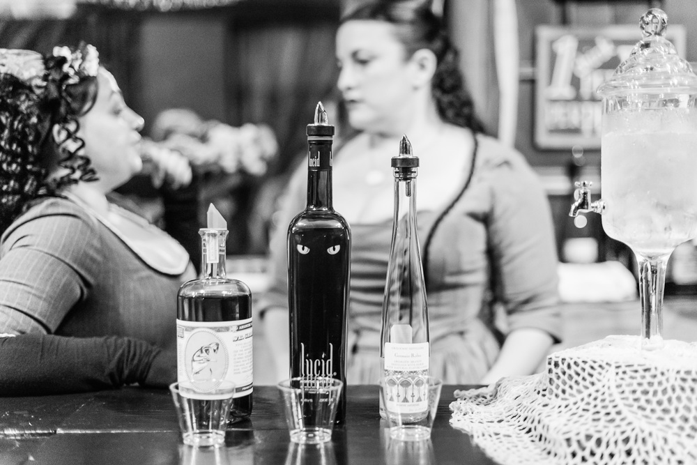 Absinthe Bar at Dickens Fair // Ashley Petersen Photo