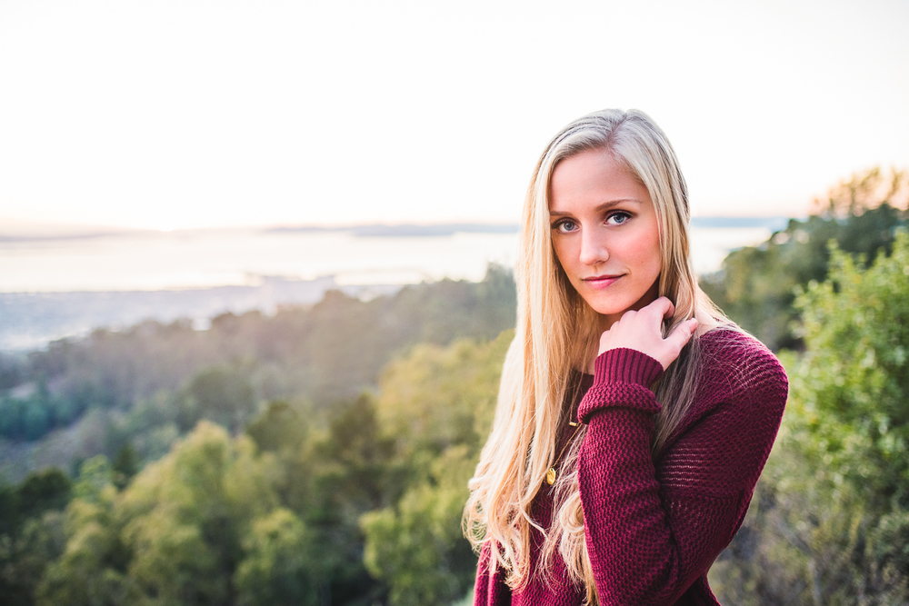 Senior Fall Portrait at Grizzly Peak // Ashley Petersen Photo