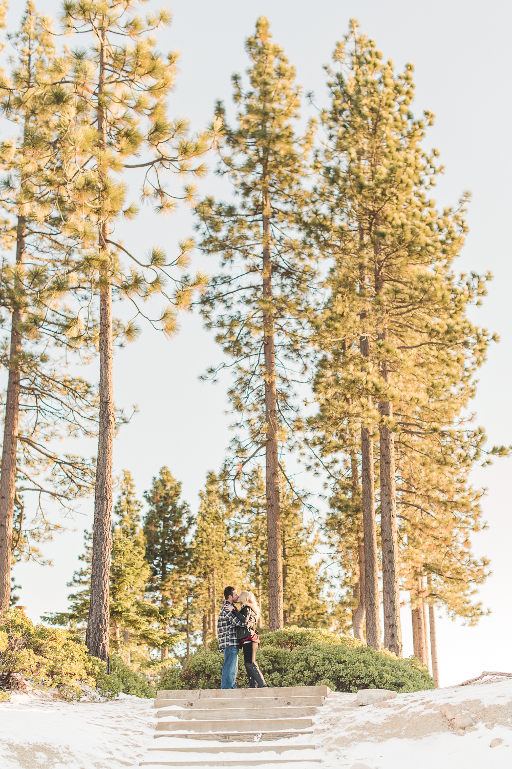 Lake Tahoe Engagement // Ashley Petersen Photo