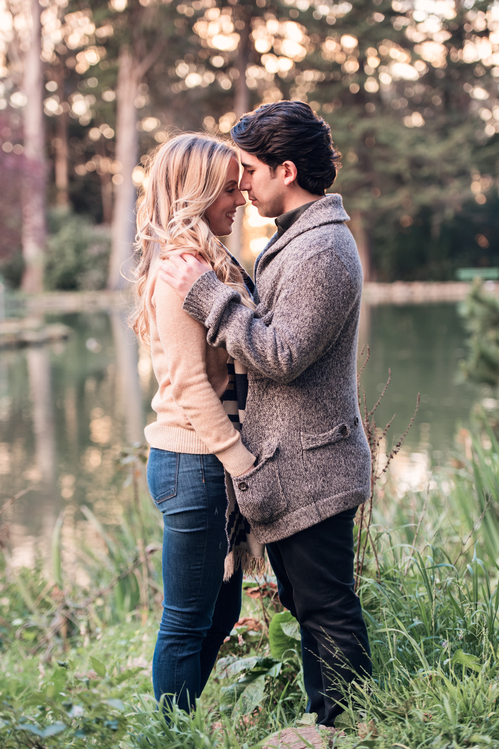 Golden Gate Park // San Francisco Engagement // Ashley Petersen Photography