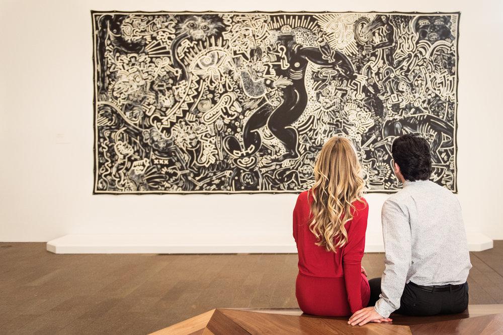Museum Engagement // De Young,  San Francisco //Ashley Petersen Photography