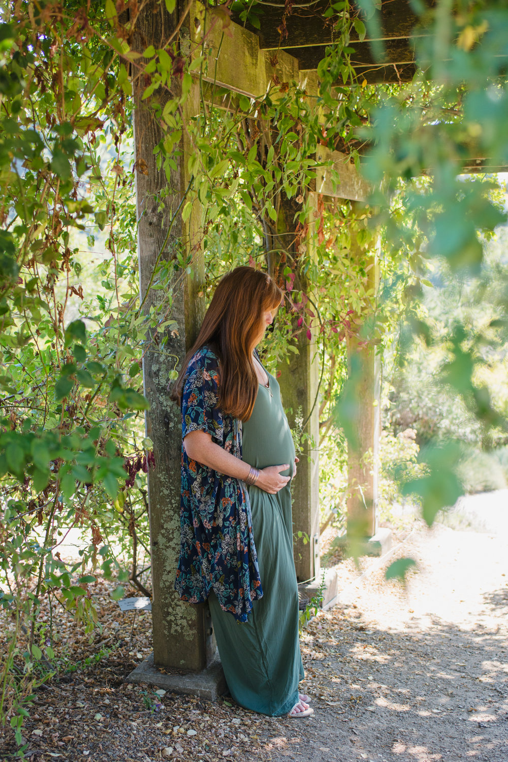Maternity at the UC Berkeley Botanical Gardens