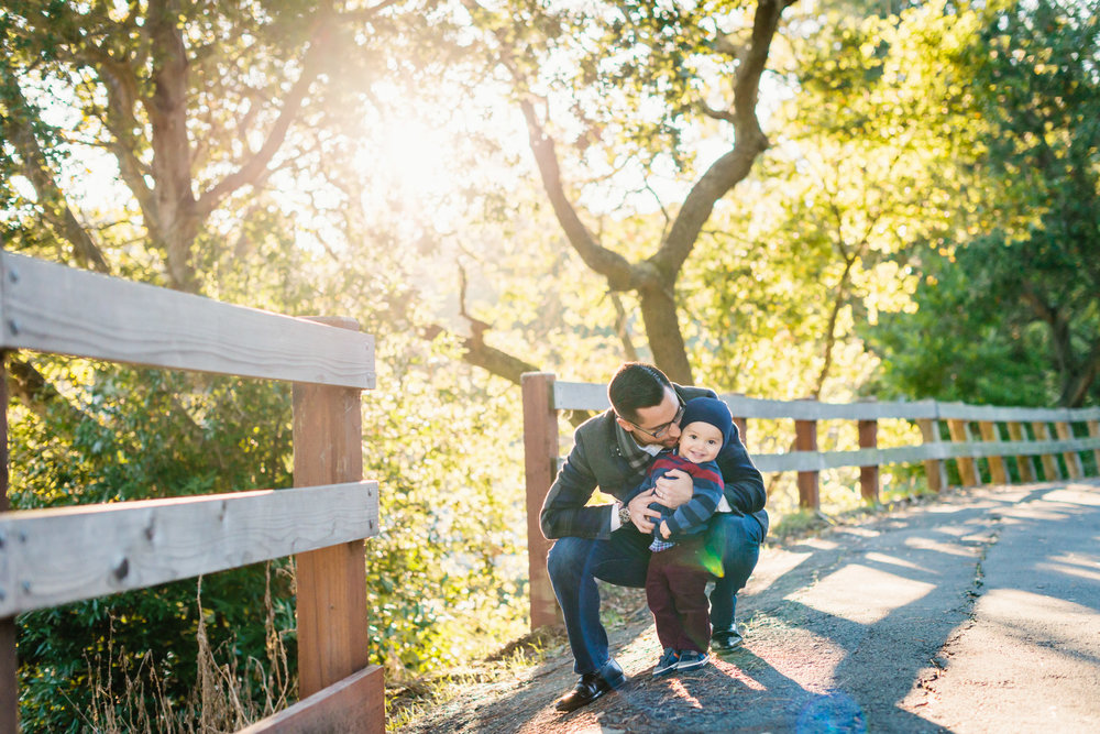 Family Session at Lafayette Reservoir