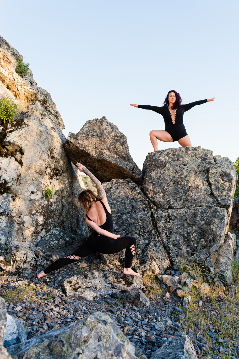 Yoga on Mount Diablo with Soulfull Roll Founders