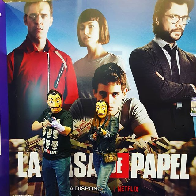 Just joined the crew - let' print some money? Oh wait thats what crypto is for 🙋🏽‍♂️ Casa de Papel #MoneyHeist #ComicConColombia #DeadPool #Kruger