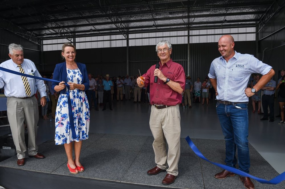 Offical Opening of the Hangar Feb 2018