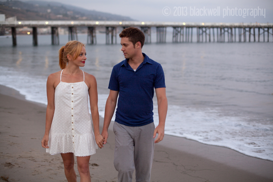 Amy Paffrath and Drew Seeley Engagement Photos