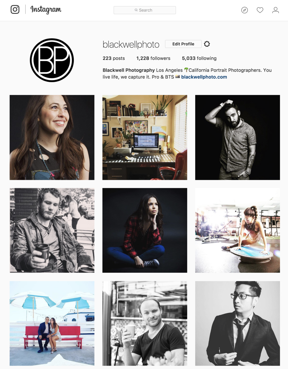 Blackwell Photography on Instagram