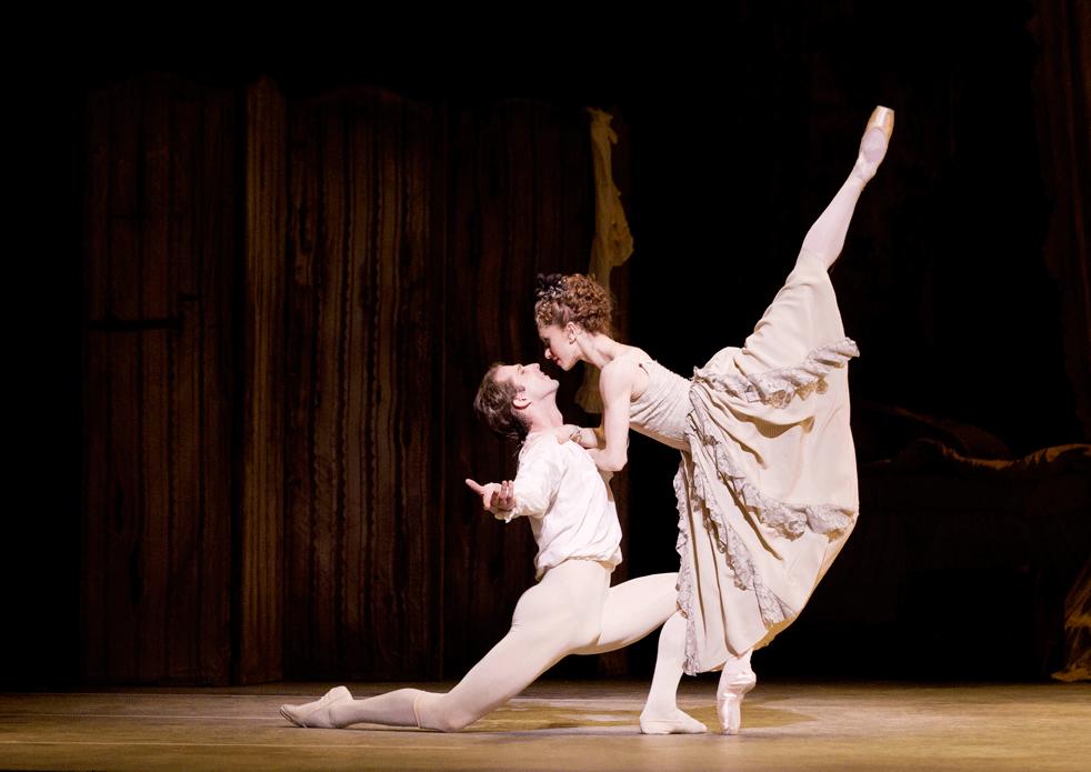 Courtesy of The Royal Ballet. Nehemiah Kish in Manon