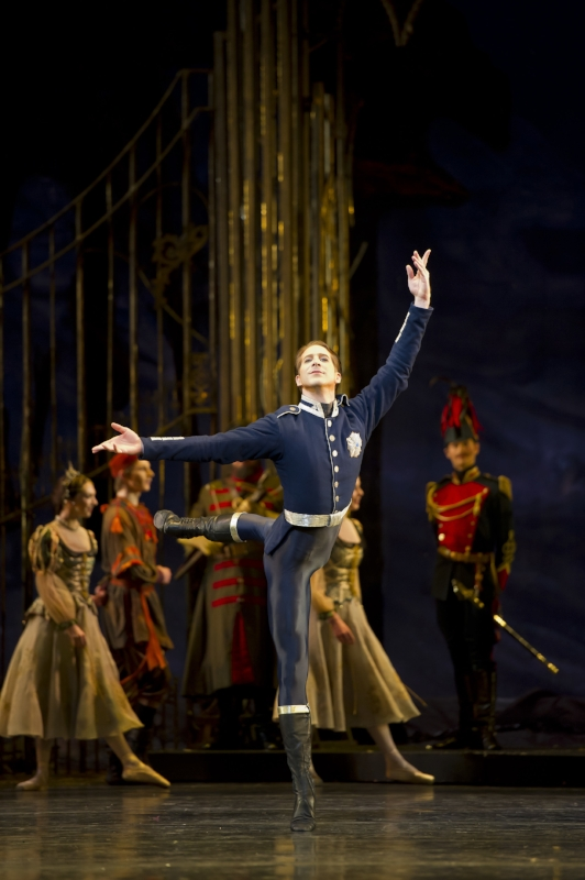 Courtesy of The Royal Ballet. Nehemiah Kish
