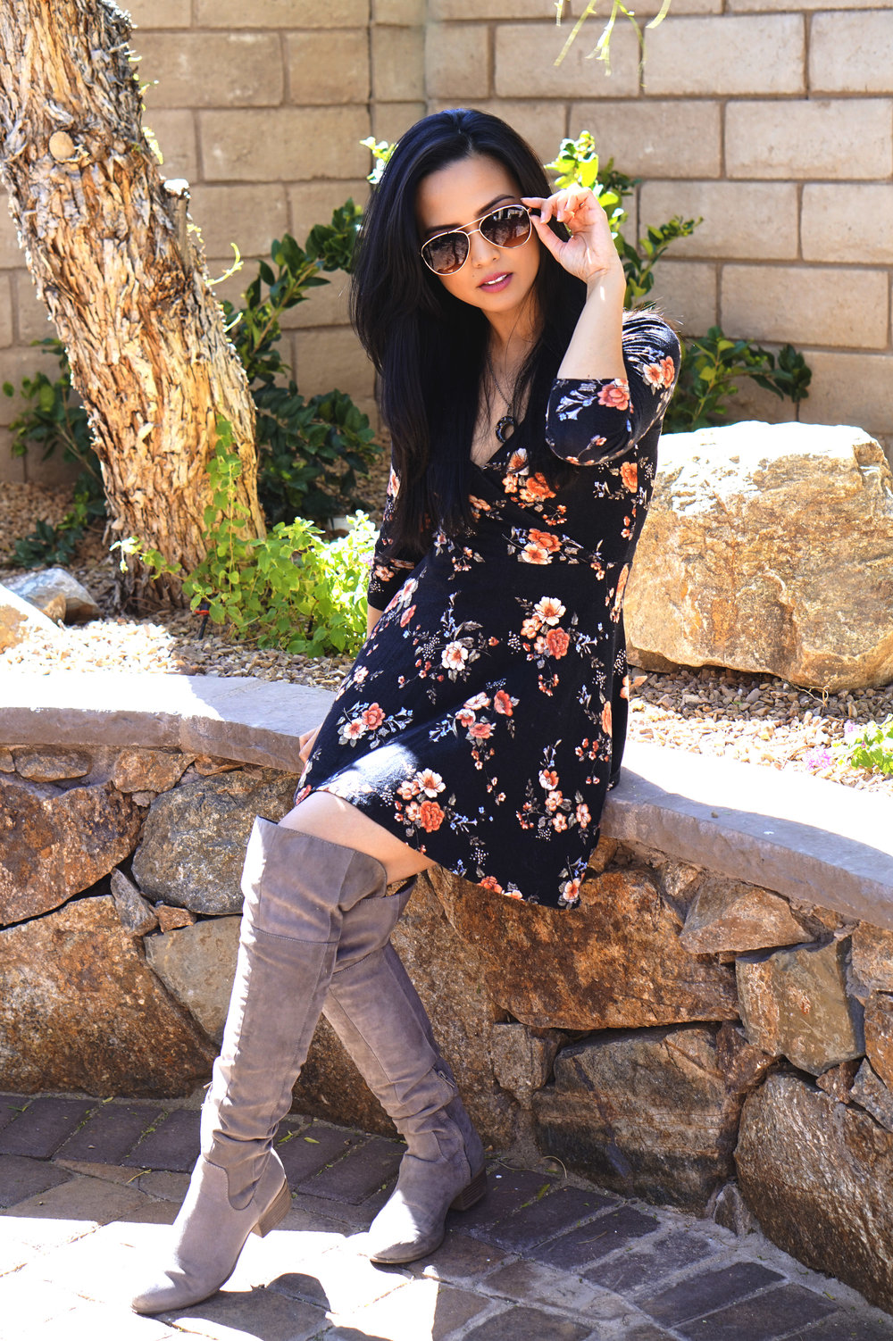 Boots:  Charlotte Russe  Sunglasses:  Francesca's