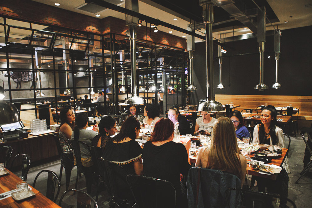 I loved the industrial interior of the restaurant. It looked fresh and modern, which added a special touch to our dining experience. // Photo by: Tyler Rae Mills