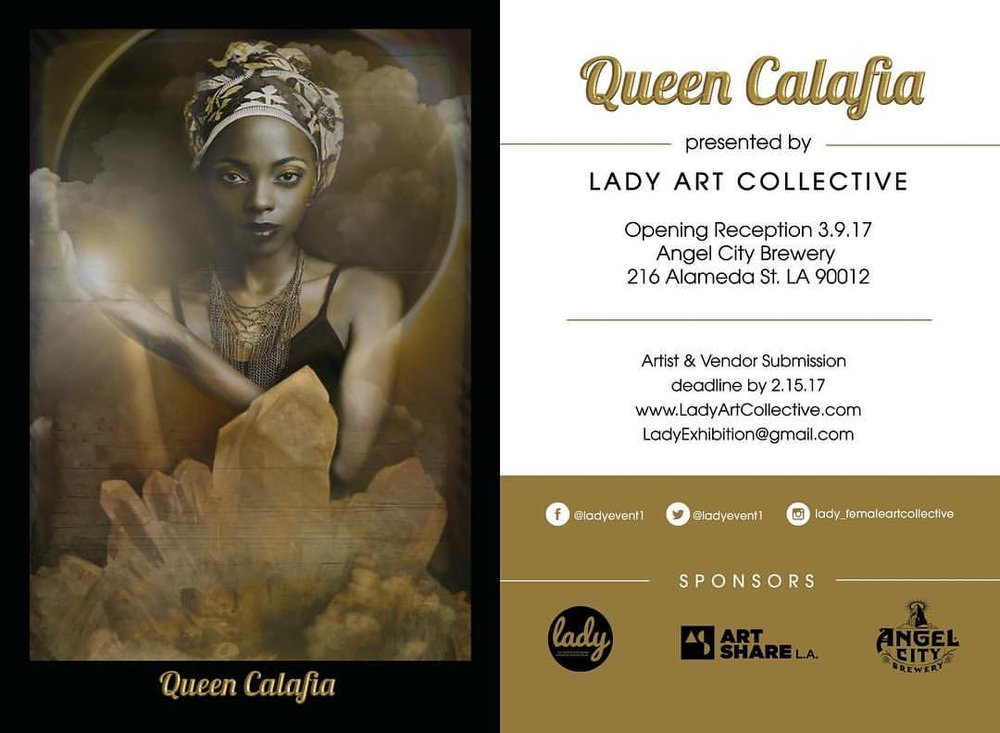 queen calafia flyer