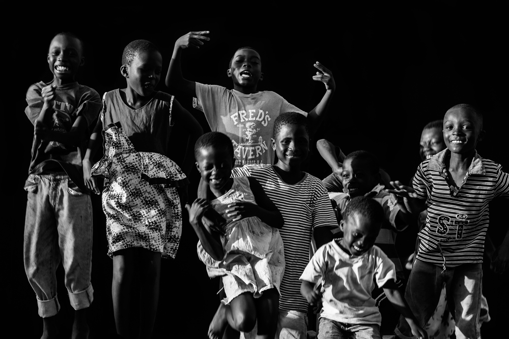 Wisdom, Wilfred, Makeed Yaw, Obed Ansah, Mary ,Patience, Alberta, and Rajeed, SPINTEX ROAD, ACCRA, 2016.