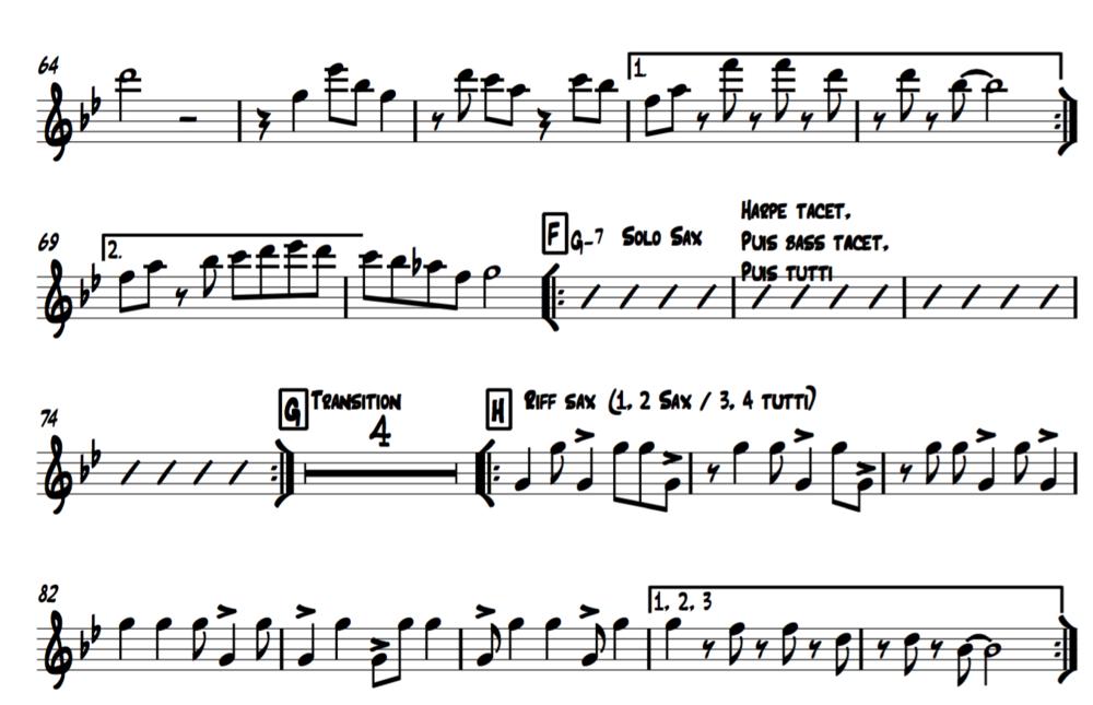 Partitions - Recevez gratuitement toutes les partitions d'ELEMENT OF SUN pour quartet.