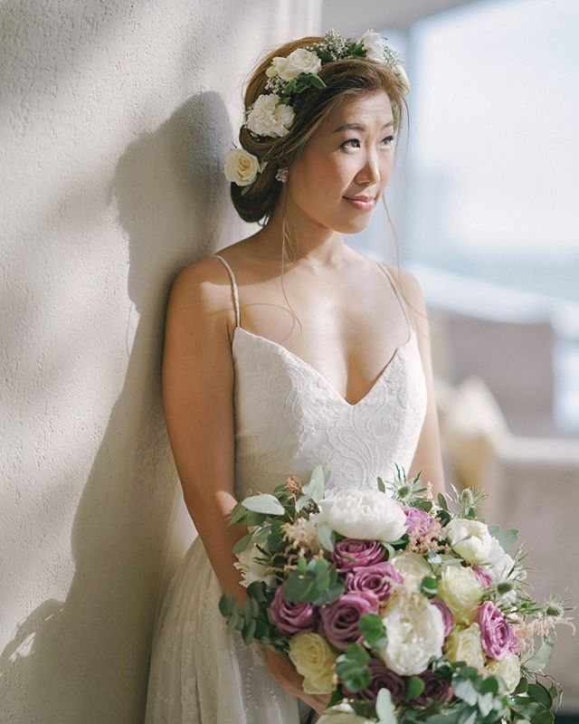 Daydream. 💐✨ @gaeafu is a #VRBride.  #BridalVaniaRomoff