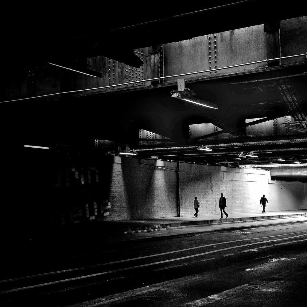 隧道 1 巴黎,法國 32 x 32 厘米/ 50 x 50 厘米