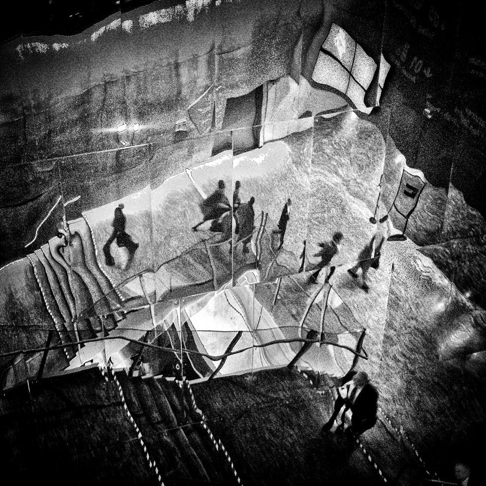 歐洲里爾樓梯 里爾,法國 32 x 32 厘米/ 50 x 50 厘米